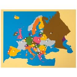 Puzzle Carte d'Europe -...