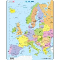 Carte d'Europe...