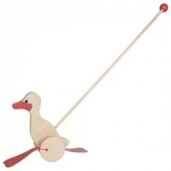 Canard - Jouet à pousser