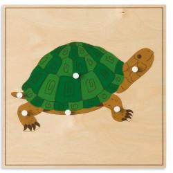 Puzzle animal : Tortue -...