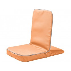 Chaise au sol - orange