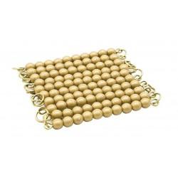 Chaîne de 100 perles en nylon