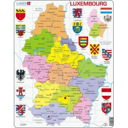Carte du Luxembourg - 70...