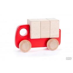 Petit camion avec chargement