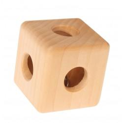 Hochet - Cube avec grelot