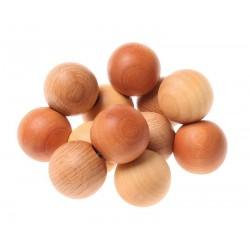 Hochet - Perles- Naturel