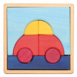 Puzzle - Voiture - 7 pièces