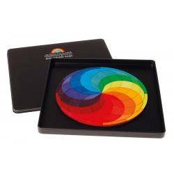 Spirale magnétique de couleurs
